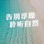 大自然下雨海浪声 催眠放松